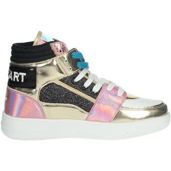 Schoenen Dames Hoge sneakers Shop Art SA80243 White/Gold