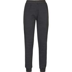 Textiel Dames Trainingsbroeken Kappa Pantalon femme  savonata noir/gris foncé