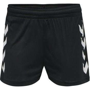 Textiel Dames Korte broeken / Bermuda's Hummel Short femme  hmlhmlCORE noir