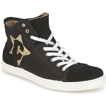 Schoenen Dames Hoge sneakers Chipie JAVENE DOUDOU Zwart