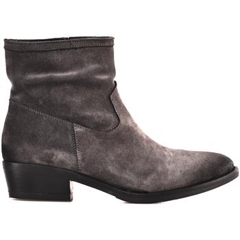 Schoenen Dames Enkellaarzen Mally 5340 Bruin