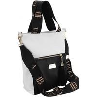 Tassen Dames Handtassen kort hengsel Badura 104020 Blanc, Noir