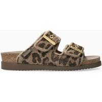 Schoenen Dames Leren slippers Mephisto HESTER Brown
