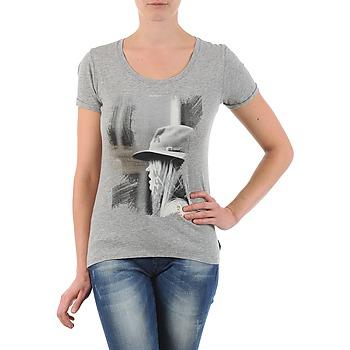Textiel Dames T-shirts korte mouwen School Rag TORI Grijs