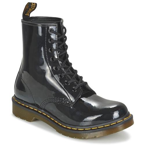 Schoenen Dames Laarzen Dr Martens 1460 W Zwart