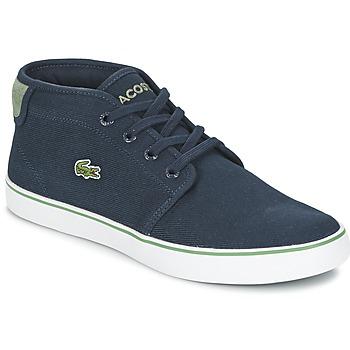 Schoenen Jongens Hoge sneakers Lacoste AMPTHILL 116 2 Marine