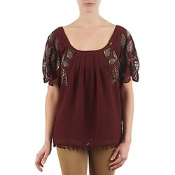 Textiel Dames T-shirts korte mouwen Lollipops POCAHONTAS TOP Bordeaux