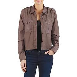 Textiel Dames Overhemden Brigitte Bardot BB43077 Brown