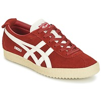 Schoenen Lage sneakers Onitsuka Tiger MEXICO DELEGATION SUEDE Rood