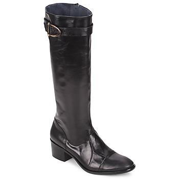 Schoenen Dames Hoge laarzen Stephane Gontard VERONIQUE Zwart