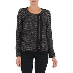 Textiel Dames Jasjes / Blazers Lola VIE LUREX Zwart / Beige
