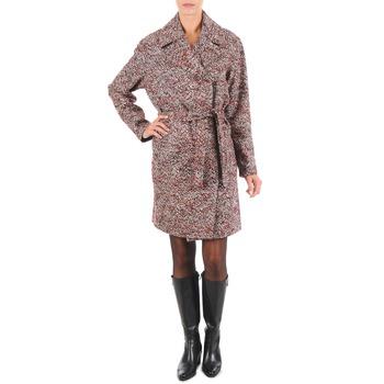 Textiel Dames Mantel jassen Lola MORANDI IPERYON Bordeaux