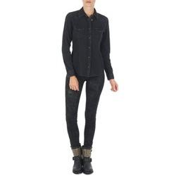Textiel Dames Skinny jeans Lee SCARLETT Zwart
