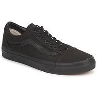 Schoenen Lage sneakers Vans OLD SKOOL  zwart /  zwart