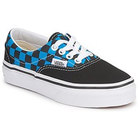 Schoenen Kinderen Lage sneakers Vans ERA KIDS Blauw / Zwart