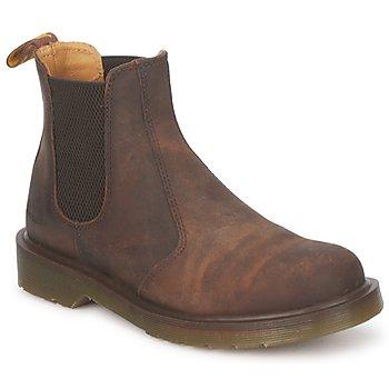 Schoenen Heren Laarzen Dr Martens 2976 CHELSEE BOOT Gaucho / Crazy / Horse