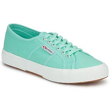 Schoenen Dames Lage sneakers Superga 2750 COTU CLASSIC Pastel / Green