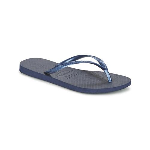Schoenen Dames Slippers Havaianas SLIM Marine