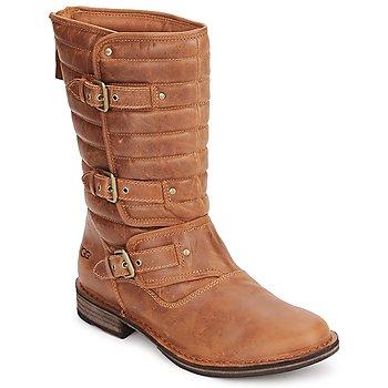 Schoenen Dames Hoge laarzen UGG TATUM Chestnut