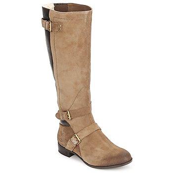 Schoenen Dames Hoge laarzen UGG CYDNEE Fawn