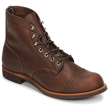Schoenen Heren Laarzen Red Wing IRON RANGER Brown