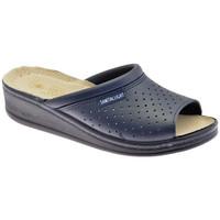 Schoenen Heren Leren slippers Sanital  Blauw