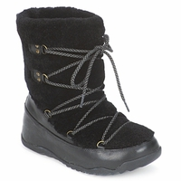 Schoenen Dames Snowboots FitFlop SUPERBLIZZ Zwart