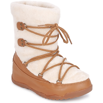 Schoenen Dames Snowboots FitFlop SUPERBLZZ Beige / Brown