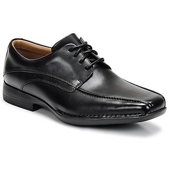 Schoenen Heren Derby Clarks FRANCIS Zwart