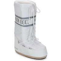 Schoenen Dames Snowboots Moon Boot CLASSIC Wit / Zilver