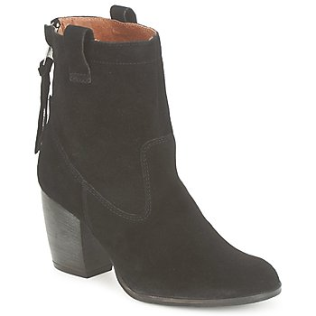 Schoenen Dames Enkellaarzen French Connection RIPLEY Zwart