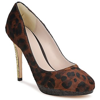 Schoenen Dames pumps Bourne LAURA Leopard