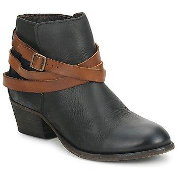 Schoenen Dames Enkellaarzen Hudson HORRIGAN Zwart