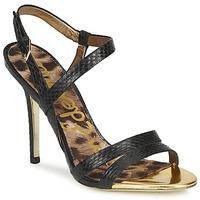 Schoenen Dames Sandalen / Open schoenen Sam Edelman ABBOTT  zwart /  snake