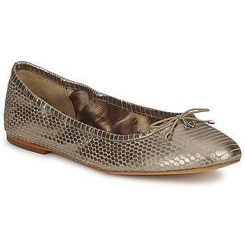 Schoenen Dames Ballerina's Sam Edelman FELICIA Light / Gold / Metallic /  snake