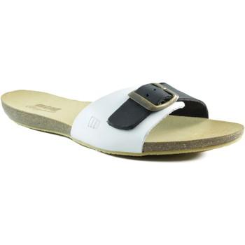 Schoenen Dames Sandalen / Open schoenen MTNG MUSTANG VAQUETA BLANCO