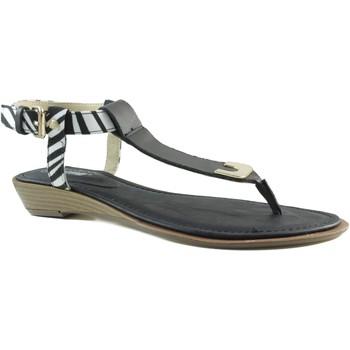 Schoenen Dames Slippers MTNG MUSTANG VACHE CUÑA NEGRO