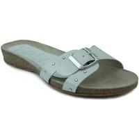 Schoenen Dames Leren slippers Vienty BIO PLANO CHAROL BEIGE