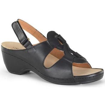 Schoenen Dames Sandalen / Open schoenen Calzamedi ORTOPEDICA PROMO W NEGRO