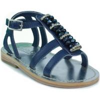 Schoenen Kinderen Sandalen / Open schoenen Oca Loca OCA LOCA  STRASS AZUL