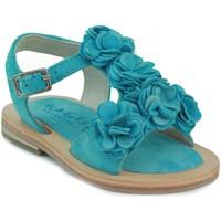 Schoenen Meisjes Sandalen / Open schoenen Oca Loca OCA LOCA  FLORES CELESTE