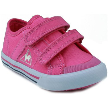 Schoenen Kinderen Lage sneakers Le Coq Sportif  DEAUVILLE PLUS ROSA