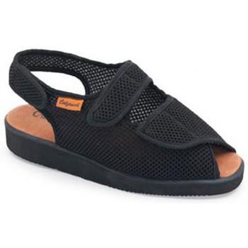 Schoenen Dames Sandalen / Open schoenen Calzamedi DOMESTICO POSTOPERATORIO NEGRO