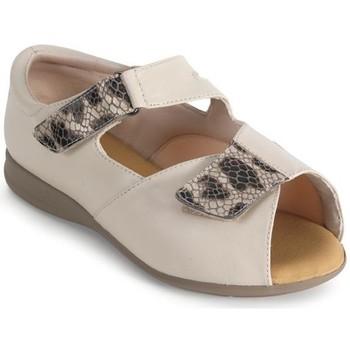 Schoenen Dames Sandalen / Open schoenen Calzamedi SEÑORA BEIGE