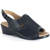 Schoenen Dames Sandalen / Open schoenen Calzamedi PALA ELASTICA NEGRO