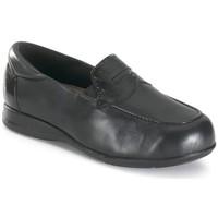 Schoenen Dames Mocassins Calzamedi ANCHO NEGRO