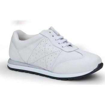 Schoenen Dames Lage sneakers Calzamedi DEPORTIVA BLANCA Y BLANCO