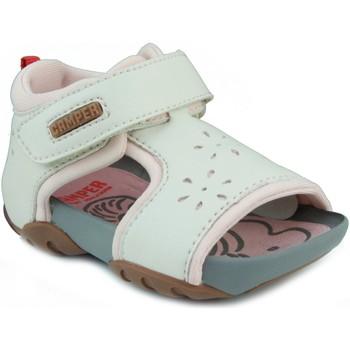 Schoenen Meisjes Sandalen / Open schoenen Camper CAMPER JEDI PAU EGGS INOX HONEY BLANCO