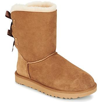 Schoenen Dames Laarzen UGG BAILEY BOW II Chataigne