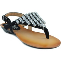 Schoenen Dames Sandalen / Open schoenen MTNG MUSTANG AFELPADO CAMINHA NEGRO